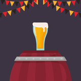 beer glass beverage icon - 222061718