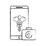 smartphone caduceus medical first aid app - 222094378