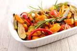 roasted vegetable and herbs - 222096566