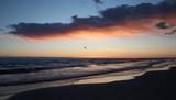 Beautiful red sunset. - 222099745