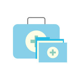 kit first aid folder report medical - 222105364