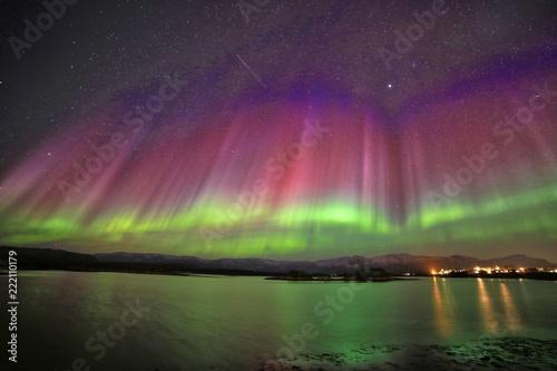 Leinwandbild Motiv Aurora polaris