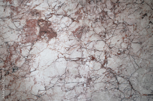 Natural Red Brown Marble Stone Surface Texture. Abstract Background. - 222110769