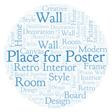 Place for Poster word cloud. - 222118355