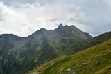 summit rock panorama landscape of the high mountains in south tyrol italy europe