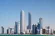 Leinwanddruck Bild - Abu Dhabi Skyline