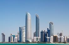"""Постер, картина, фотообои """"Abu Dhabi Skyline"""""""