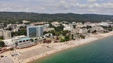 Golden Sands Bulgaria aerial view panorama
