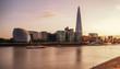 London skyline at eveninng