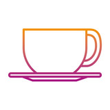 coffee cup isolated icon - 222143998