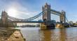 London Tower Bridge panoramic view - 222148342