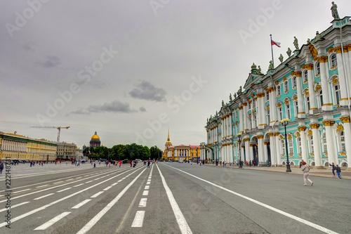 Wall mural St Petersburg landmarks, Russia
