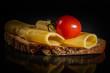 tomate käse brot