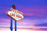 Fototapeta Forest - Welcome to Las Vegas Sign © somchaij