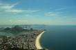 Quadro Aerial view of the touristic points of Rio de Janeiro