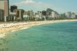 Quadro Summer days in brazilian beach (Leblon - Rio de Janeiro - Brazil)