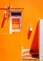 Bright house facade
