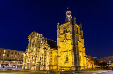 Cathedral Notre Dame of Le Havre in France © Leonid Andronov