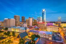 "Постер, картина, фотообои ""Oklahoma City, Oklahoma, USA Skyline"""
