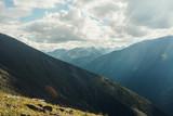 Mountain tops of Altai
