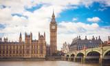 Fototapeta Big Ben - Big Ben London England © patruflo