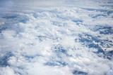 Le Alpi viste dal finestrino di un aereo - 222203755