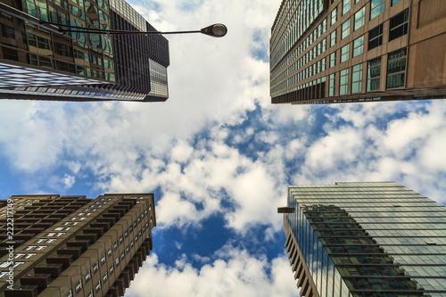 Foto Murales Downtown Skyscrapers
