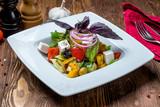 Greek salad with feta - 222221543