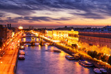 Saint-Petersburg, view of the Fontanka River and bridges - 222256904
