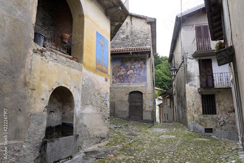 Arcumeggia, Italy, the painters village - 222267917