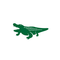 Alligator silhouette logo
