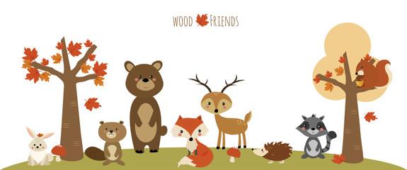 amici del bosco