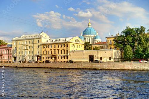 Sticker Saint-Petersburg landmarks, Russia