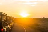 Sunrise at car Safari - 222287977
