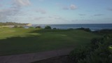 Aloha sign in Hawaii. Ocean in background. clear sunny skies on tropical morning - 222307718