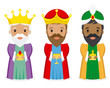 The three kings of orient