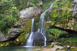 Waterfall Virje - Slovenia