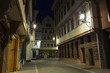 Frankfurt am Main. Historical city centre. New old town at night