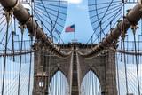 brooklyn bridge in new york - 222362722