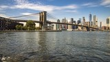 brooklyn bridge and lower manhattan - 222362760