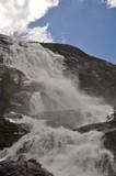 Langfossen Wasserfall