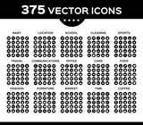 Pack of icons, vector collection icon set 2.