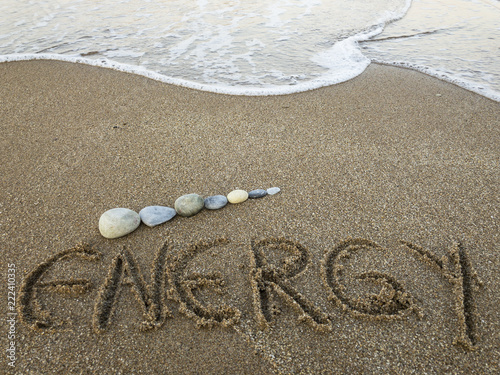 great energy given by the sea, synergy and health