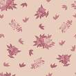 Seamless pattern with roses. Vector pattern with roses for background, textile, print. - 222416338