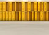 Yellow School Lockers - 222423522