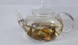 White Willow Bark Medical tea. Tea from Willow Bark close-up