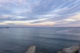 Bay of Burgas at dusk