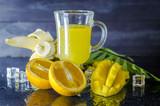 multivitamin and multifruit juice