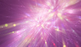 abstract pink background. fractal explosion star with gloss and lines. illustration beautiful.