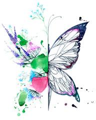 abstract butterfly © okalinichenko